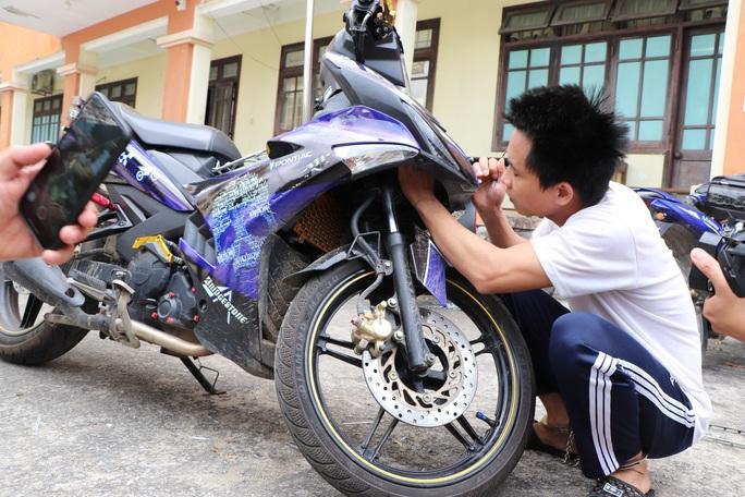 Thanh niên trộm SH và nhiều xe máy tại bệnh viện Quảng Nam - Ảnh 3.