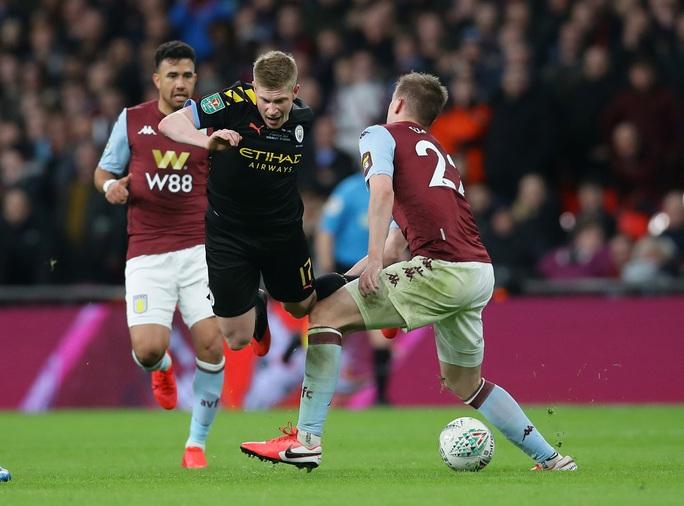 Man City lập hat-trick vô địch League Cup, Pep tiến sát kỷ lục - Ảnh 2.