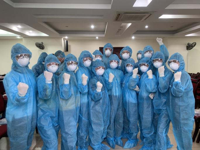 Không nghỉ học, ĐH Y Hà Nội đưa gần 130 sinh viên đi chống dịch Covid-19 - Ảnh 4.