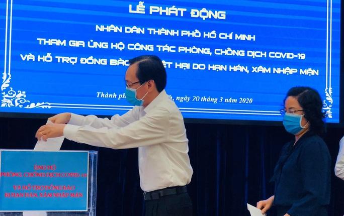 Chung tay chống dịch Covid-19: Người dân TP HCM ủng hộ gần 61 tỉ đồng - Ảnh 2.