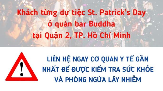 Tiếp tục tìm kiếm những người từng đến một quán bar ở quận 2 - TP HCM - Ảnh 1.