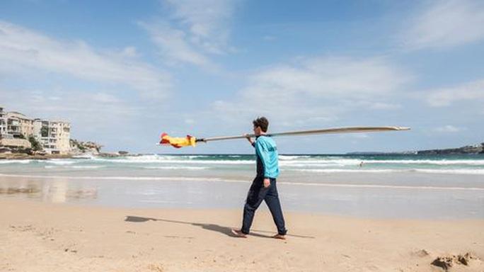 Covid-19: Bãi biển Úc kín người, cảnh sát phải ra tay giải tán - Ảnh 5.