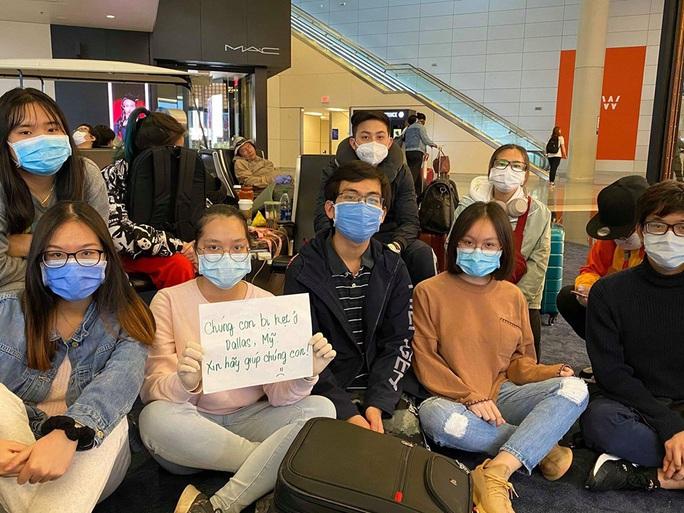 Gần 40 du học sinh Việt bị kẹt tại sân bay ở Mỹ - Ảnh 1.