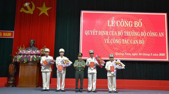Điều động, bổ nhiệm nhiều nhân sự chủ chốt Công an tỉnh Quảng Nam - Ảnh 2.