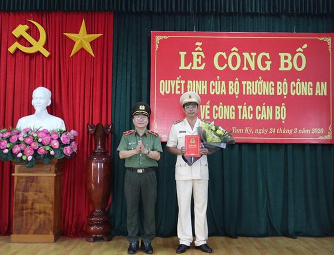 Điều động, bổ nhiệm nhiều nhân sự chủ chốt Công an tỉnh Quảng Nam - Ảnh 1.