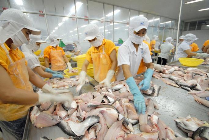 Doanh nghiệp thủy sản nỗ lực giữ việc làm cho công nhân - Ảnh 1.