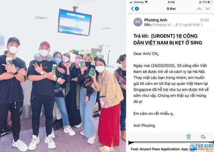 100 người Việt Nam bị kẹt tại sân bay Thái Lan, Singapore - Ảnh 2.