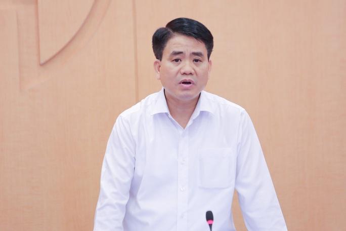 Chủ tịch Nguyễn Đức Chung đề xuất cho phép Hà Nội công bố ca bệnh Covid-19 - Ảnh 1.