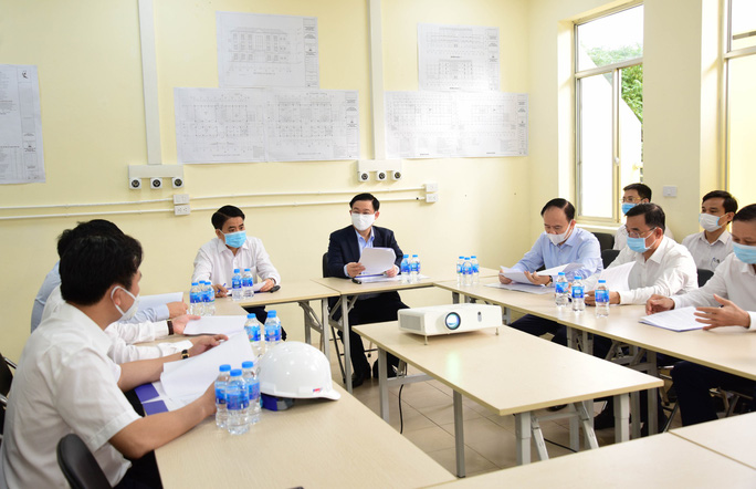 Bí thư Vương Đình Huệ trực tiếp thị sát bệnh viện dã chiến làm trong 7 ngày - Ảnh 5.