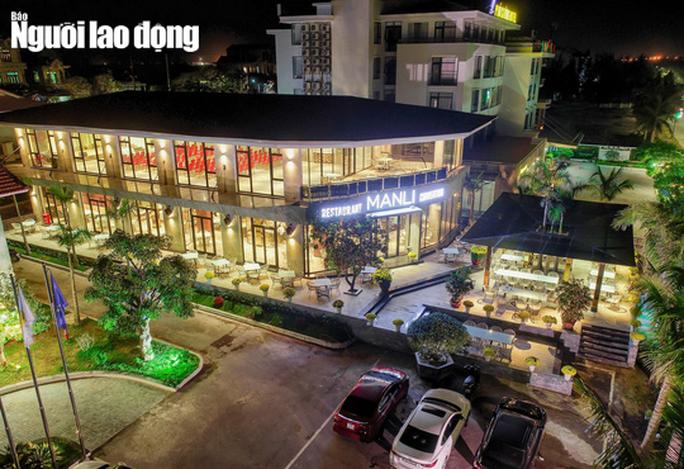 Resort Manli ở Quảng Bình tiên tự nguyện làm khu cách ly chống Covid-19 - Ảnh 1.