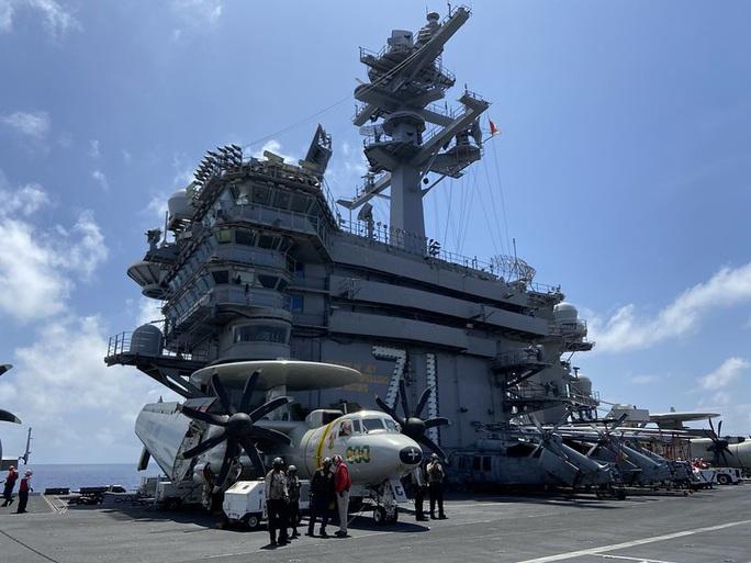 Đại sứ Hà Kim Ngọc nói về việc thủy thủ tàu sân bay Mỹ vừa thăm Việt Nam mắc Covid-19 - Ảnh 2.