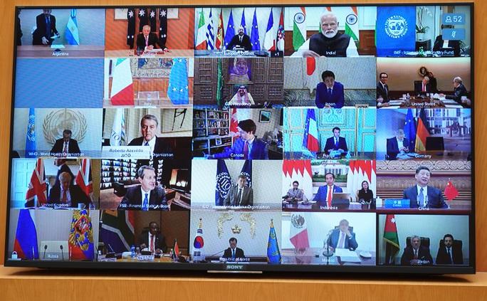 Thủ tướng chia sẻ với lãnh đạo G20 thực tiễn kiểm soát tốt dịch Covid-19 của Việt Nam - Ảnh 3.