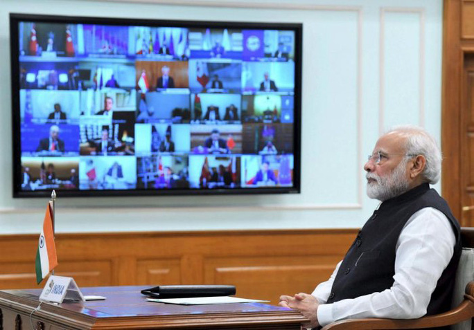 Thủ tướng Ấn Độ kêu gọi cải cách WHO - Ảnh 1.