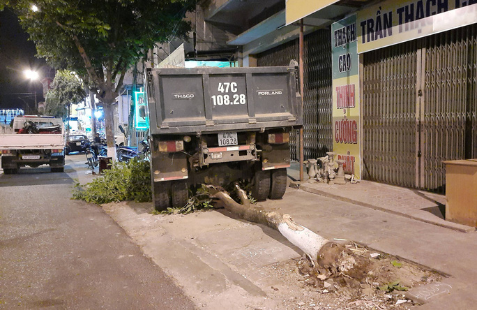 Xe tải trôi tự do gây tai nạn liên hoàn trên đường phố - Ảnh 4.