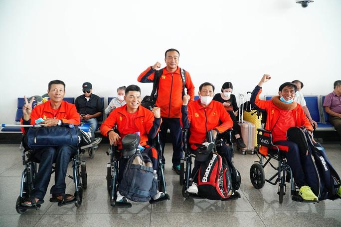 Việt Nam lần đầu dự giải quần vợt xe lăn quốc tế - Ảnh 1.