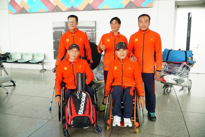 Việt Nam lần đầu dự giải quần vợt xe lăn quốc tế - Ảnh 2.