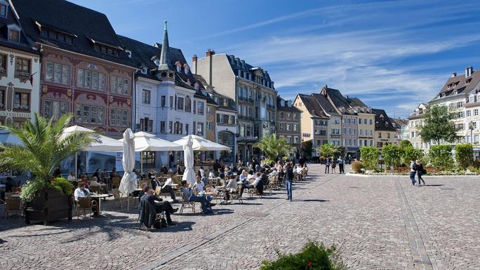 Thành phố Mulhouse. Ảnh:Visit Alsace