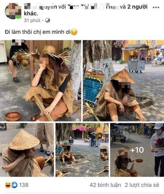 Người nhà ông Phan Văn Anh Vũ xin lỗi, nói chụp ảnh cái bang để câu like - Ảnh 3.