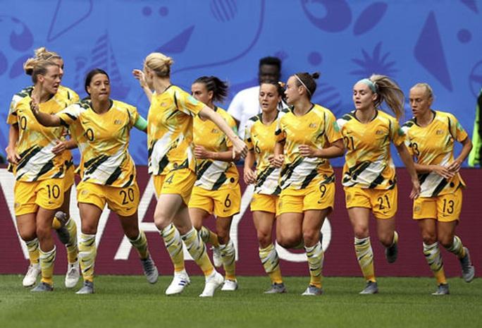 Tuyển nữ Úc cực mạnh - Ảnh 1.