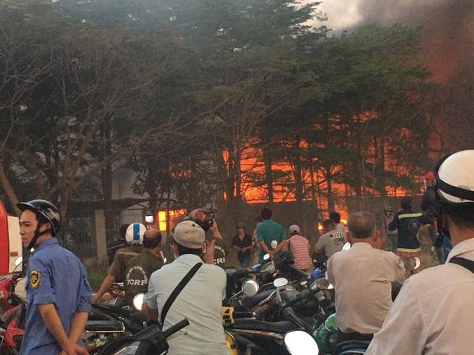 Cháy lớn trong KCN Cát Lái - Ảnh 5.