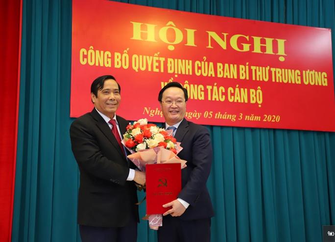 Thứ trưởng Bộ KH-ĐT làm Phó Bí thư Tỉnh ủy Nghệ An - Ảnh 1.
