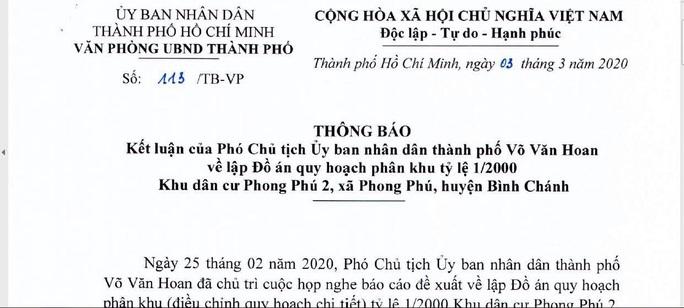 UBND TP HCM chỉ đạo công an vào cuộc, xử lý vi phạm của Công ty Phi Long - Ảnh 1.