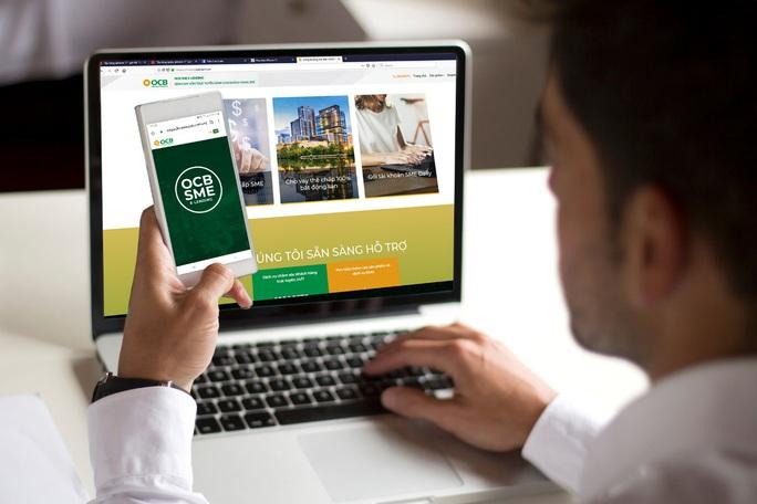 OCB gỡ khó cho doanh nghiệp vừa và nhỏ vay vốn trực tuyến thời 4.0 - Ảnh 1.