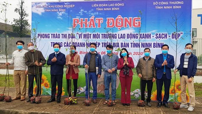 Ninh Bình: Phát động trồng cây xanh vì môi trường - Ảnh 1.