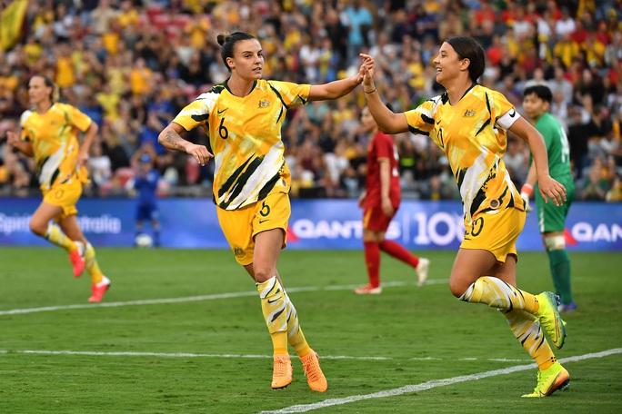 Tuyển nữ Việt Nam bị Úc đè bẹp 5 bàn không gỡ - Ảnh 4.