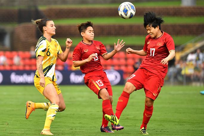 Tuyển nữ Việt Nam bị Úc đè bẹp 5 bàn không gỡ - Ảnh 3.