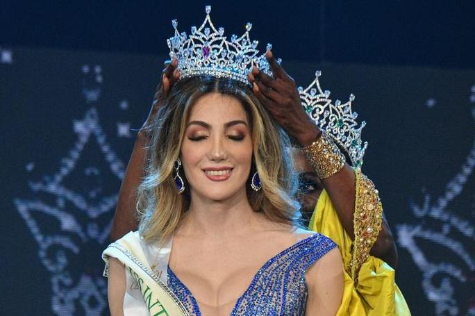 Cận cảnh nhan sắc tân Hoa hậu Chuyển giới quốc tế - Ảnh 1.