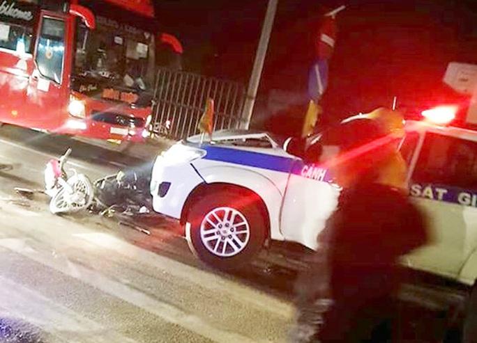 CSGT Vĩnh Long lên tiếng khi bị tố gây tai nạn rồi bỏ trốn - Ảnh 2.
