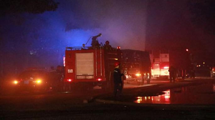 Tiếp tục điều tra vụ cháy xưởng ở KCN Cát Lái - Ảnh 1.