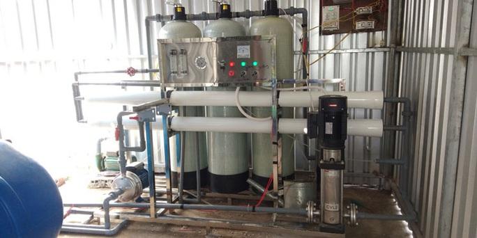 Sáng chế máy lọc nước mặn thành ngọt - Ảnh 2.