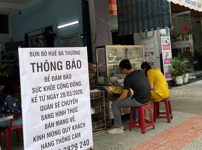 Đà Nẵng: Dừng hoạt động cửa hàng ăn uống bán qua mạng, bán mang đi từ 2-4 - Ảnh 1.