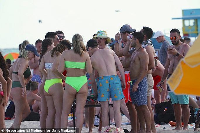 Rủ nhau đi biển, 28 sinh viên Texas nhiễm virus SARS-CoV-2 - Ảnh 2.