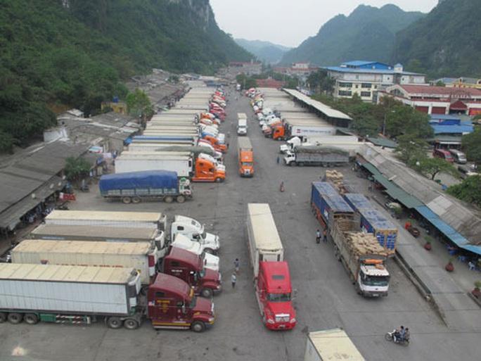 Khuyến cáo tạm dừng đưa nông sản lên Lạng Sơn - Ảnh 1.