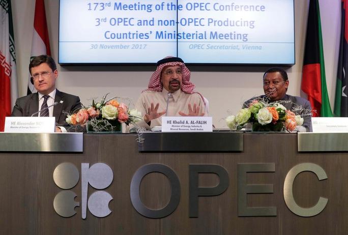 Tổ chức OPEC+ giảm sốc sản lượng dầu trước áp lực từ Mỹ - Ảnh 1.