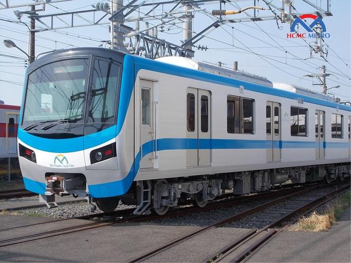 Xem video tàu metro Bến Thành - Suối Tiên vận hành thử - Ảnh 2.