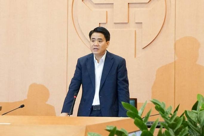 Chủ tịch Hà Nội: Xét nghiệm dương tính là công bố luôn, không để dân chủ quan - Ảnh 1.