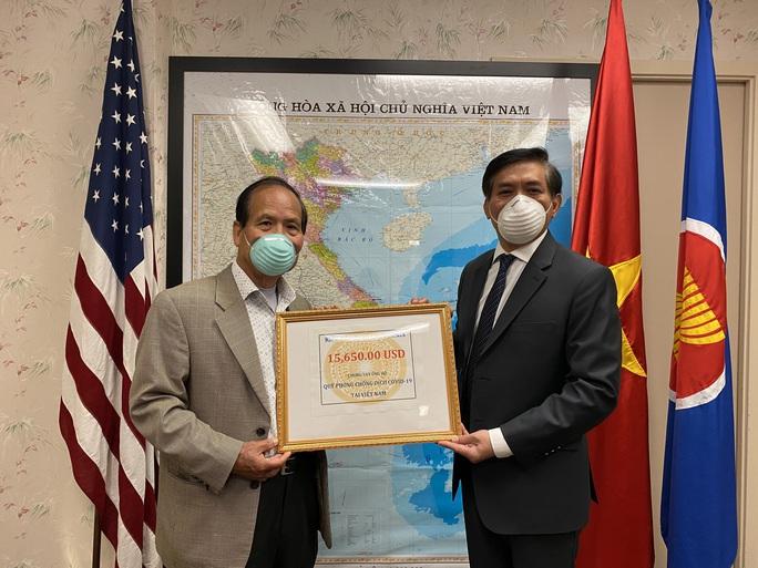Việt kiều Mỹ ủng hộ phòng chống dịch Covid-19 ở Việt Nam - Ảnh 2.