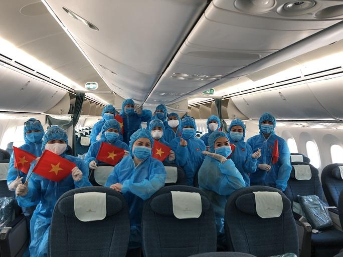 Chuyến bay đặc biệt đưa công dân từ Anh về Việt Nam - Ảnh 11.