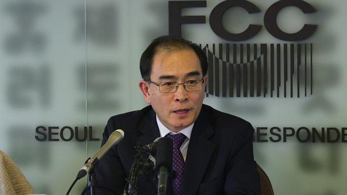 Cựu quan chức cấp cao Triều Tiên sang Hàn Quốc làm nghị sĩ - Ảnh 1.