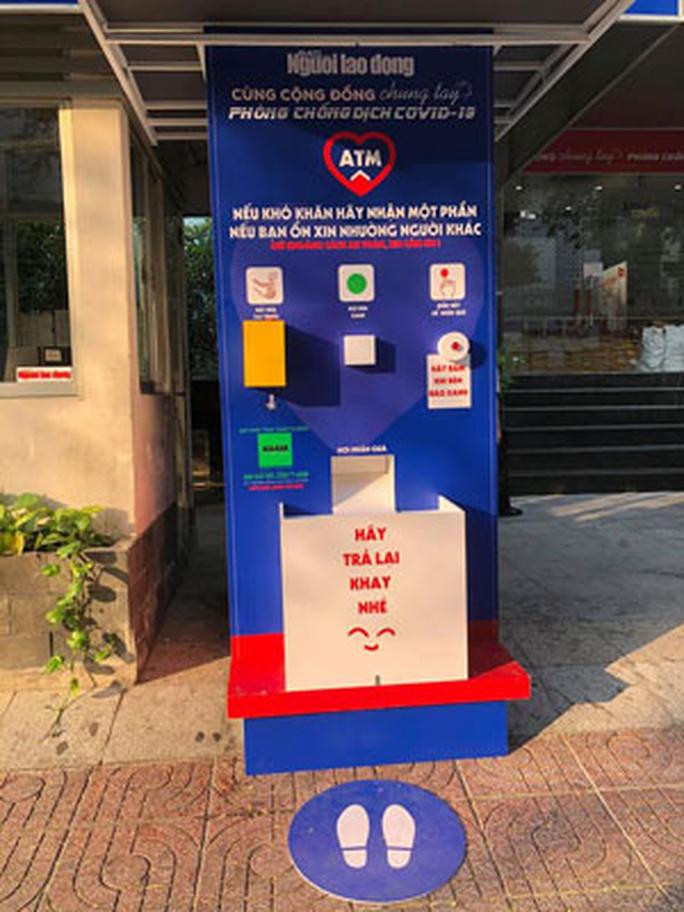 Báo Người Lao Động mở chương trình ATM thực phẩm miễn phí - Ảnh 1.