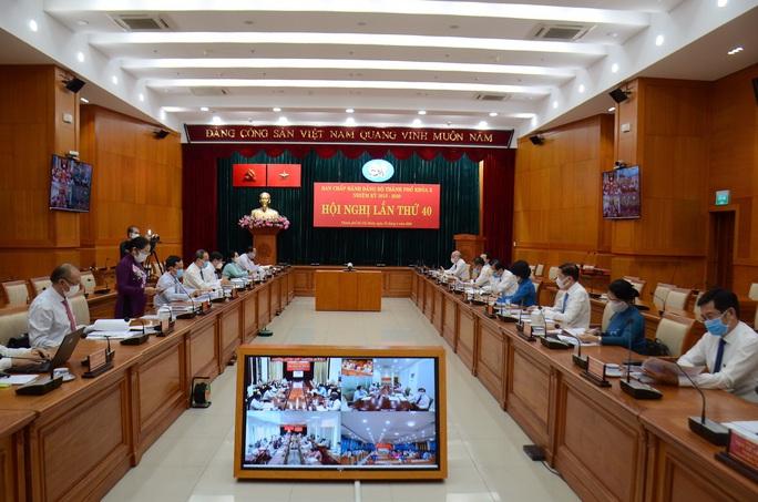 Hội nghị Thành ủy TP HCM lần thứ 40 bàn nhiều vấn đề quan trọng - Ảnh 2.