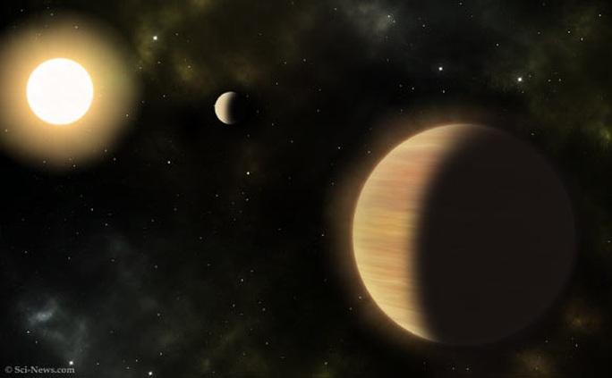Phát hiện hệ mặt trời cổ đại có 2 hành tinh khổng lồ kinh dị - Ảnh 1.