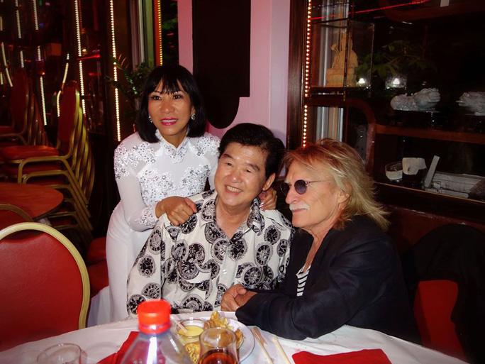 Ca sĩ Lệ Thu Nguyễn thương tiếc danh ca Christophe qua đời đột ngột - Ảnh 3.