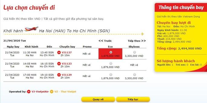 Ít khách, giá vé máy bay vẫn tăng cao - Ảnh 4.