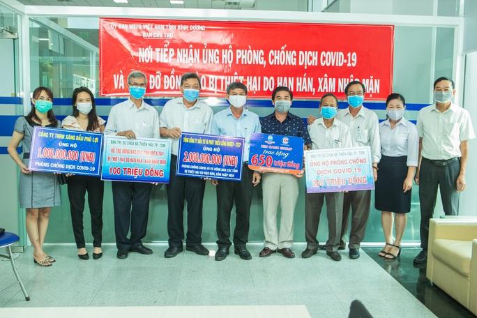 Bình Dương: Một doanh nghiệp ủng hộ 20.000 lít xăng để phòng, chống dịch Covid-19 - Ảnh 1.