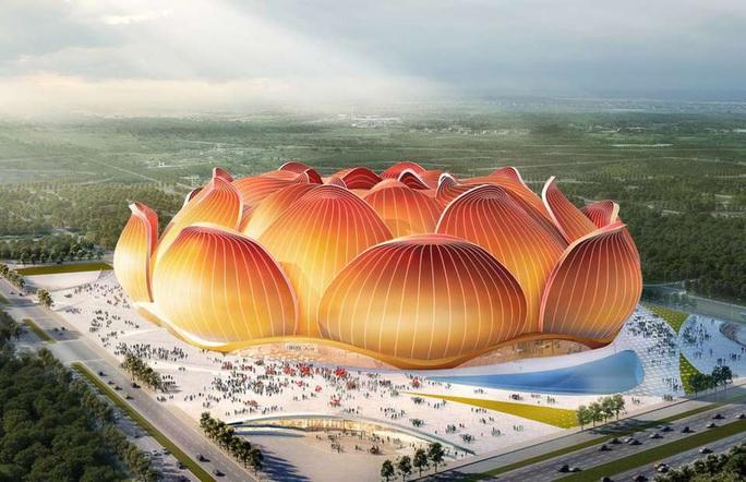 Ngắm sân bóng tỉ đô cực khủng của Quảng Châu Evergrande - Ảnh 2.